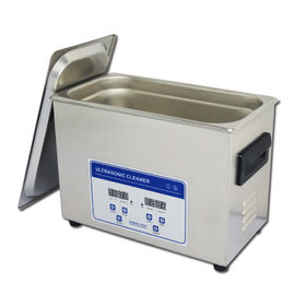 China 4.5L Jewelry Eyeglasses SS Digital Ultrasonic Cleaner With Heater supplier