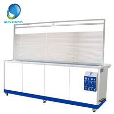 China Adjustable Timer Ultrasonic Blind Cleaning Equipment 264L 3000 Watt 28/40KHz supplier