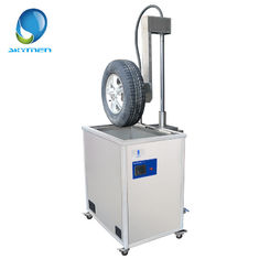 Fast Remove Dust With Video Feedback Tyre Tire Ultrasonic Cleaning Machine