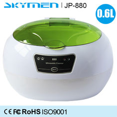 China 35W Colors Lid Contact Lens Eyeglasses Benchtop Ultrasonic Cleaner / Bath Portable supplier