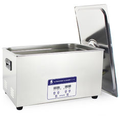 China 22L Lab Instrument Benchtop Ultrasonic Cleaner Digital Control 40KHz Frequency supplier