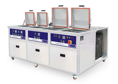 China 4 tanks Customized PCB Ultrasonic cleaner with cooling system supplier