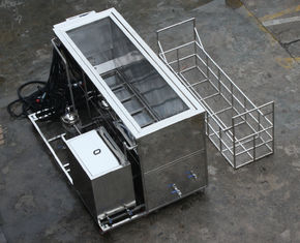 28khz/40khz 316 Stainless Steel Ultrasonic Cleaning Equipment Custom Made