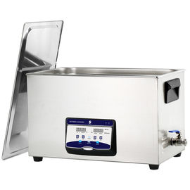 China Stainless Steel Quiet Benchtop Ultrasonic Cleaner Thorough Lab Instrument Cleaning supplier