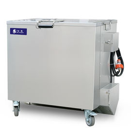 Commercial Kitchens and Bakeries shops oil carbon degrease clean tank