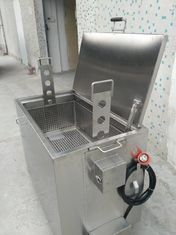 China Dirty Kitchen Soak Tank 304 Stainless Steel Soak Tank With Hand Held Control supplier