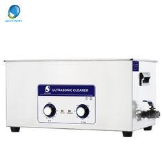 China 22L ultrasonic cleaning equipment , JP-080S Stainless Steel Ultrasonic Cleaner 40KHz CE supplier