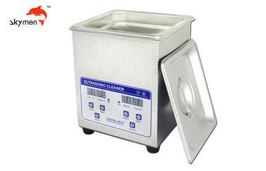 China 40KHz Benchtop Ultrasonic Cleaner 60W 2L For Jewelry Diamond Gold Products supplier