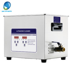 China 360 Watt Industrial Ultrasonic Cleaner , 15L Ultrasonic Parts Washer For Valve 40KHz supplier