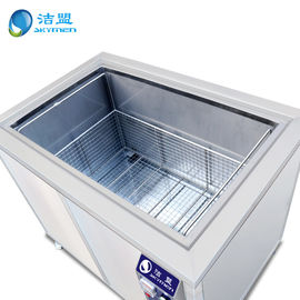 China Industrial Ultrasonic Cleaning Equipment 80000hz Frequency Ultrasound Stainless Steel supplier