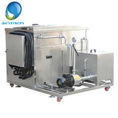 Metallic Parts Degreasing Industrial Ultrasonic Cleaner 3.6KW With Oil Seperator