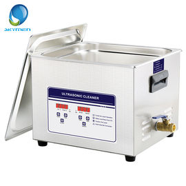 China Dental Tools Benchtop Ultrasonic Cleaner 10L Tank Volume 240 Watt 1 Year Warranty supplier