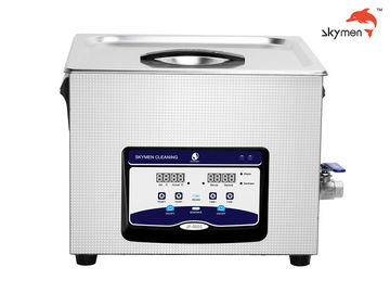 China Durable 15L Benchtop Ultrasonic Cleaner 360W For Power Tube / Silicon Wafer supplier