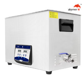 China Digital Sonic Wave Ultrasonic Cleaner 38L Internal Tank For Medicine Extraction supplier