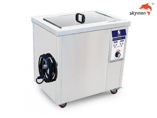 China 77 Liters Ultrasonic Cleaning Device  1200W Ultrasonic power For Spinneret In Textile Industry supplier