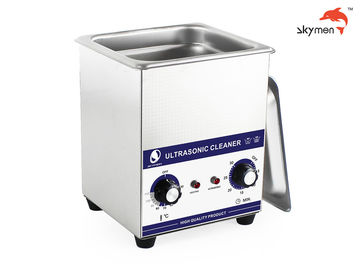 China Jewelry Benchtop Ultrasonic Cleaner 60W 40KHz Low Noise With Stainless Steel Tank supplier