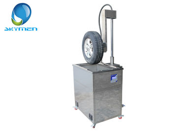 Alloy Wheel / Tire Cleaning Machine with Digital Control , Easy Sweep