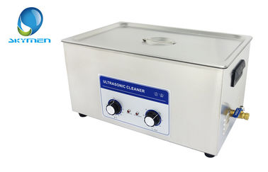 China Electric Powered Large Ultrasonic Cleaner 22L For Pottery Clean supplier