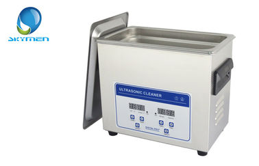 China Stainless Steel Ultrasonic Parts Cleaner / Dental Ultrasonic Cleaner Machine supplier