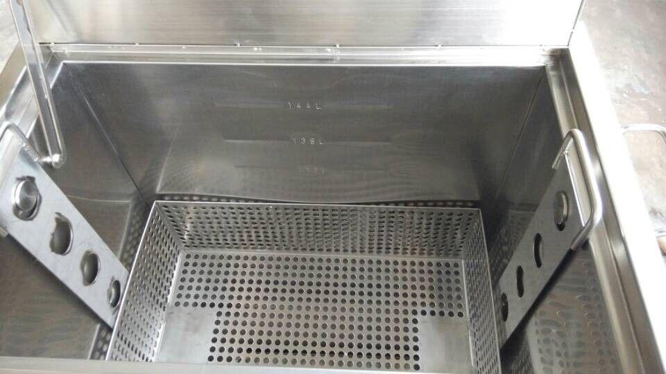 Stainless Steel Kitchen Hood Filter Soak Tank With Lockable