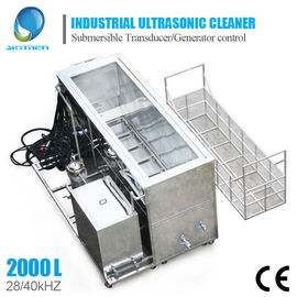 Large Industrial Ultrasonic Cleaning Machine For Engine Block Car Parts Cleaning