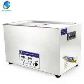 China 240-600w Digital Adjustable Power Ultrasonic Parts Cleaner 30l Spare Parts Washing 40khz factory