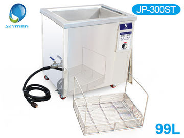China Double Tanks Ultrasound Washing Machine , Automotive Ultrasonic Cleaner For Car Parts Grease factory