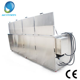 China Ultrasonic / Rinsing / Drying Ultrasonic Cleaning Equipment For Turbochargers factory