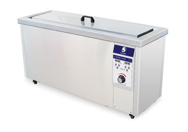 China Long Gun Ultrasonic Cleaning Machine 600 Watt Power With Small Hole Basket distributor