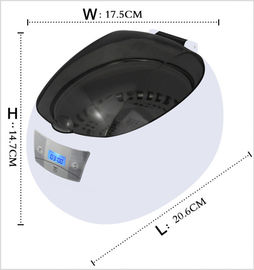 China Mini 750ml Household Ultrasonic Cleaner , JP - 900S Ultrasonic Jewellery Cleaners CE FCC factory