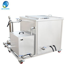 China CE / Rohs Automotive Ultrasonic Cleaner For Engine Parts With Filtration System factory