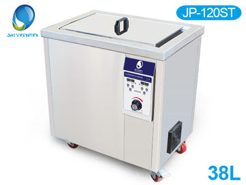 China Dual Frequency 28khz 40khz Heated Ultrasonic Cleaner Industrial 38 L Power Adjustable factory