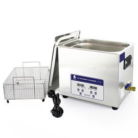 China Skymen Benchtop Ultrasonic Cleaner Jewellry ,Optical Lense ,diesel filter Cleaning Machine 10.8l distributor