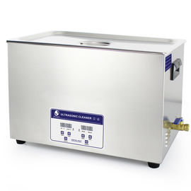 China 304 30L Ultrasonic Cleaning Machine , industrial ultrasonic cleaner chainrings and cassette 40KHz factory