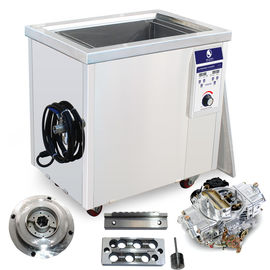 China Stainless Steel Industrial Ultrasonic Cleaner Remove Dust / Oil For Auto Parts Vehicle Radiator factory