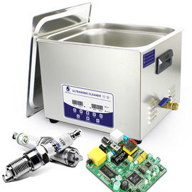 China 15 L Ultrasonic Washing Machine For Pcb Cleaning Removes Solder Paste And Flux Residue distributor