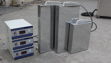 China 40KHz Submersible Transducer Stainless Steel Ultrasonic Cleaner For Condenser / Radiator / Cooler distributor