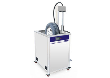 China Ultrasonic Car Tyre Cleaning Machine With Lifting System distributor