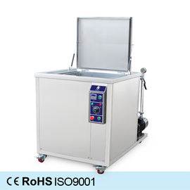 China SUS304/316 Ultrasonic Cleaning tank of Machinery and Aluminum Parts with filtration system distributor