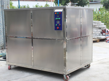 China 1500L Oil Filtration Industrial Ultrasonic Cleaner , 10800W Ultrasonic Cleaning Equipment factory