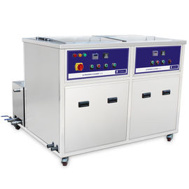 China 2 Chambers Ultrasonic Cleaning Machine For Heat Pipe ,heat exchanger tube distributor