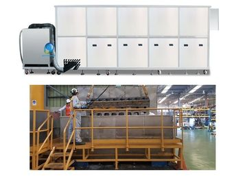 China 34.2 KW Ultrasonic Cleaning Equipment For Turbo Blade / Aerospace Component distributor