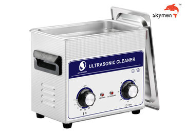 China JP-020 Medical Ultrasonic Cleaner , 120W Ultrasonic Parts Washer 3.2L Mechanical Knob factory
