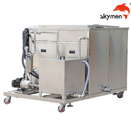 China 50L Ultrasonic Cleaning Equipment , Ultrasonic Washing Machine 900W For DPF / Value factory