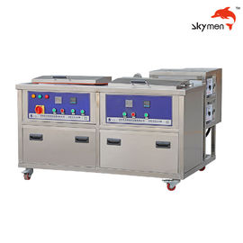 China Auto Parts 50L Industrial Ultrasonic Cleaner 28/40KHz With Rinsing Tank / Filter factory
