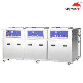 China 3 Bins Industrial Ultrasonic Cleaner 28/40KHz For Surgical Knife Blade / Tools factory