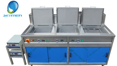 China Spinneret Plate Ultrasonic Washing Machine 3 Phase With Rinsing / Filter / Dryer factory