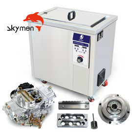China Auto Part Grease Rust Remove Industrial Ultrasonic Cleaner 100L Tank 28/40KHz factory