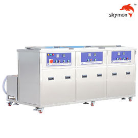 China 28/40KHz Industrial Ultrasonic Cleaner 100L Tank Volume For Engine / Motor Parts factory