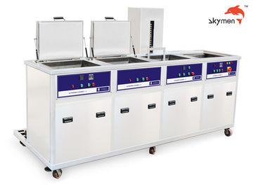 China Lab Instruments Ultrasonic Cleaning Equipment 77L Tank Volume 28/40KHz 750W factory